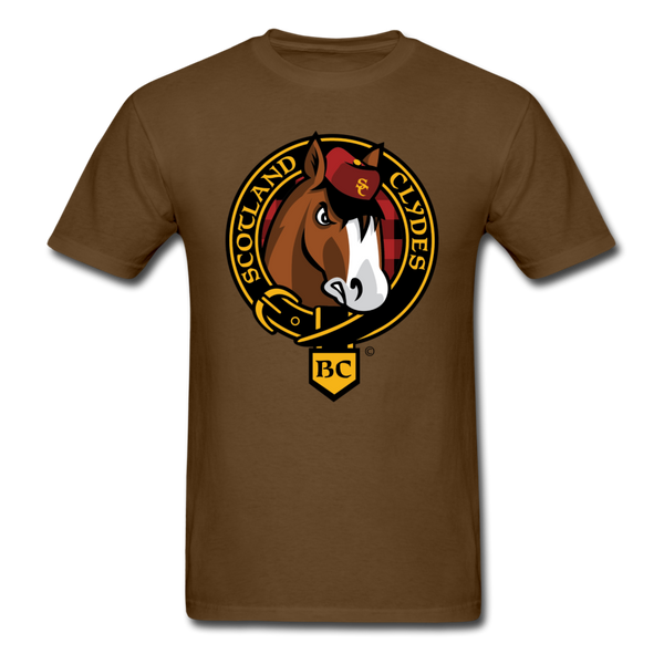 Scotland Clydes Unisex Classic T-Shirt - brown