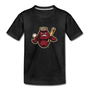Boston Mean Beans Mascot Kids' Premium T-Shirt - charcoal gray