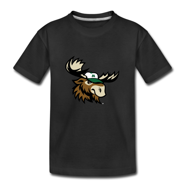 Minnesota Big Lumber Moose Mascot Kids' Premium T-Shirt - black