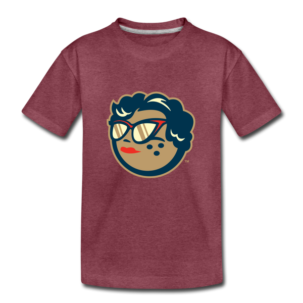 MABL Icon Kids' Premium T-Shirt - heather burgundy