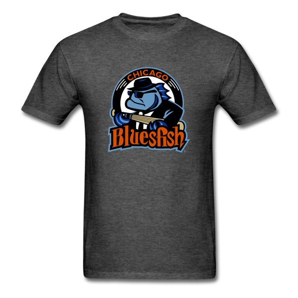 Chicago Bluesfish Unisex Classic T-Shirt - heather black