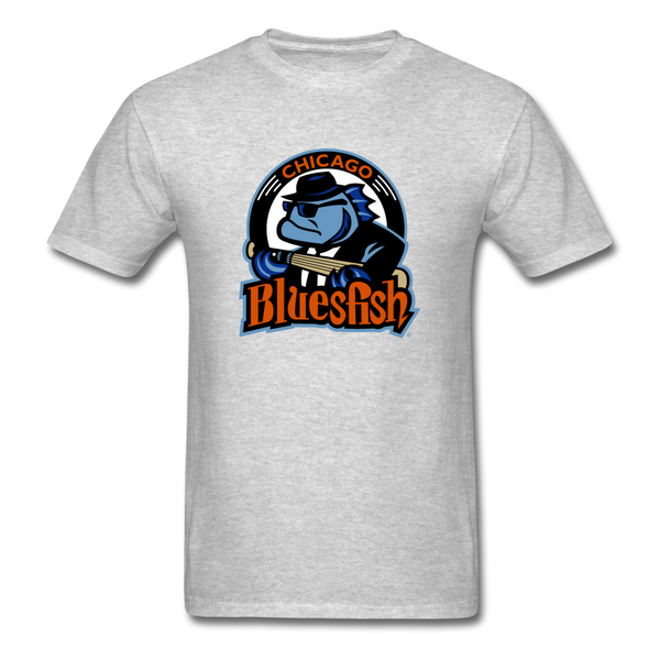 Chicago Bluesfish Unisex Classic T-Shirt - heather gray