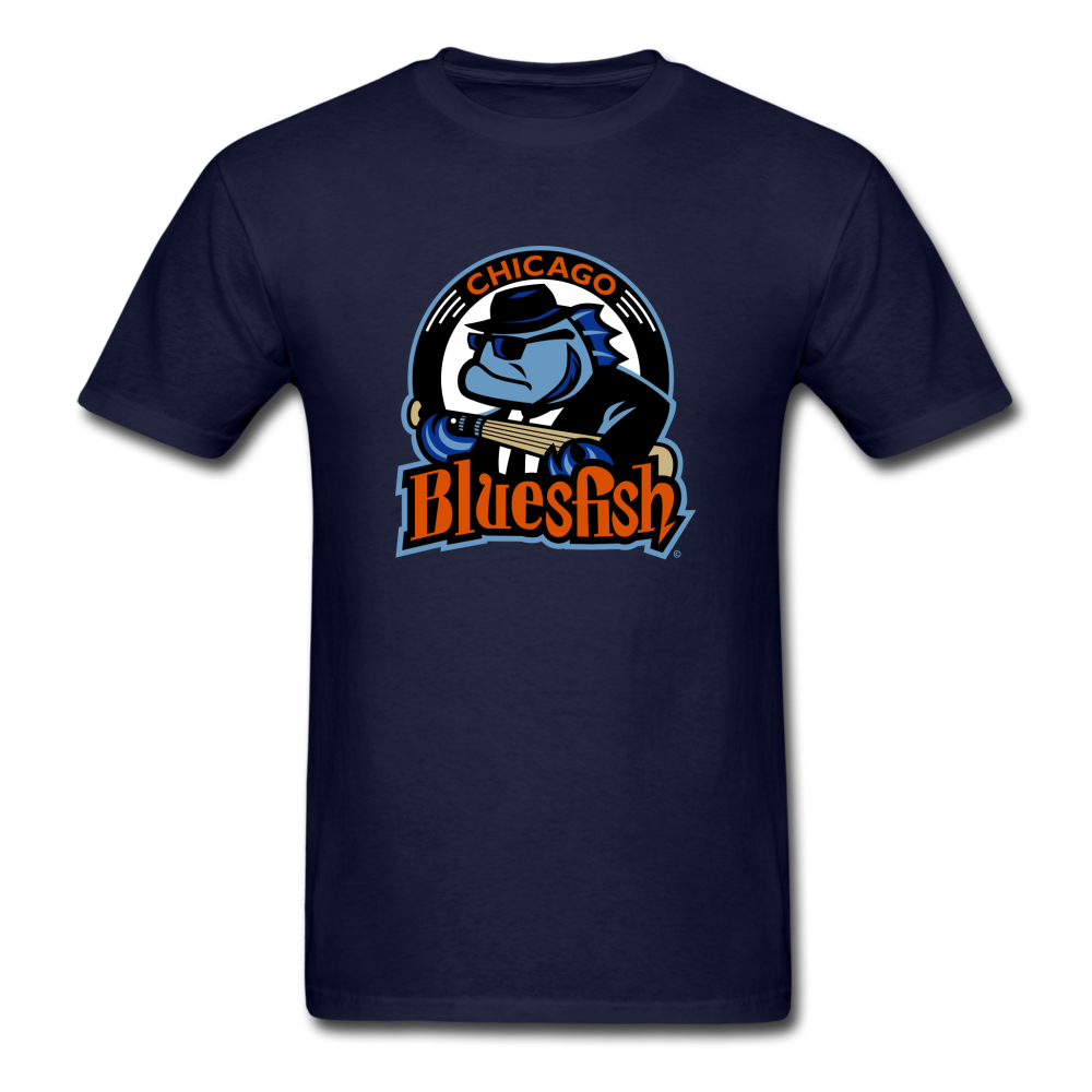 Chicago Bluesfish Unisex Classic T-Shirt - navy