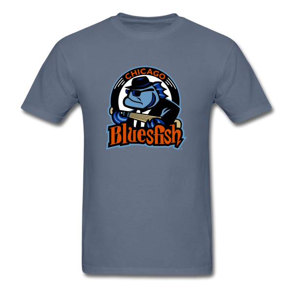 Chicago Bluesfish Unisex Classic T-Shirt - denim