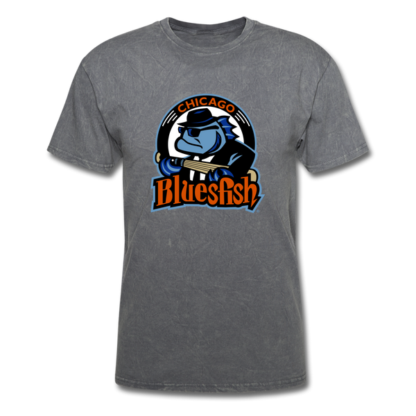 Chicago Bluesfish Unisex Classic T-Shirt - mineral charcoal gray