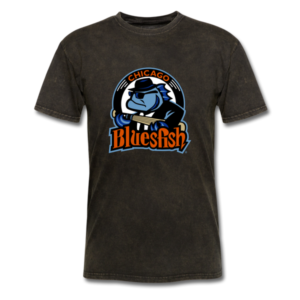 Chicago Bluesfish Unisex Classic T-Shirt - mineral black