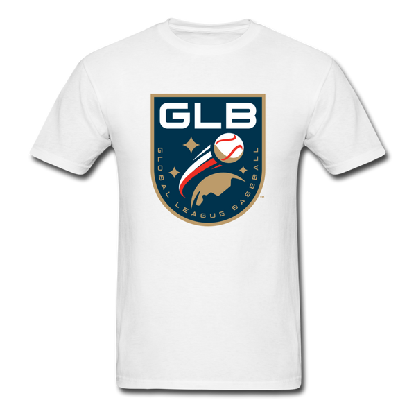 Global League Baseball Unisex Classic T-Shirt - white