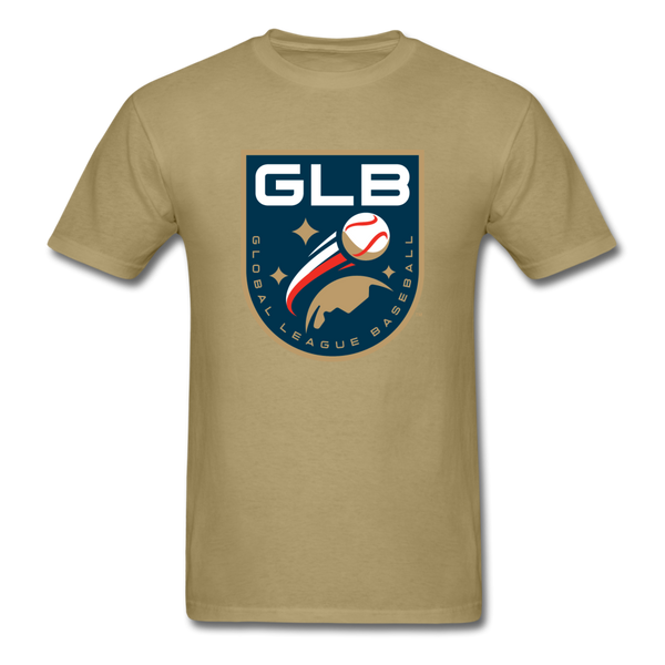 Global League Baseball Unisex Classic T-Shirt - khaki