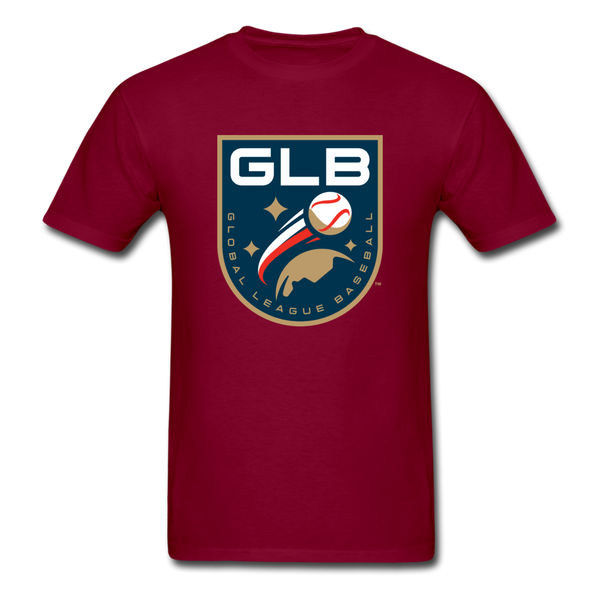 Global League Baseball Unisex Classic T-Shirt - burgundy