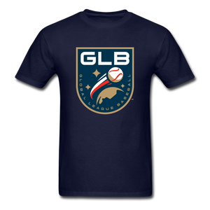 Global League Baseball Unisex Classic T-Shirt - navy