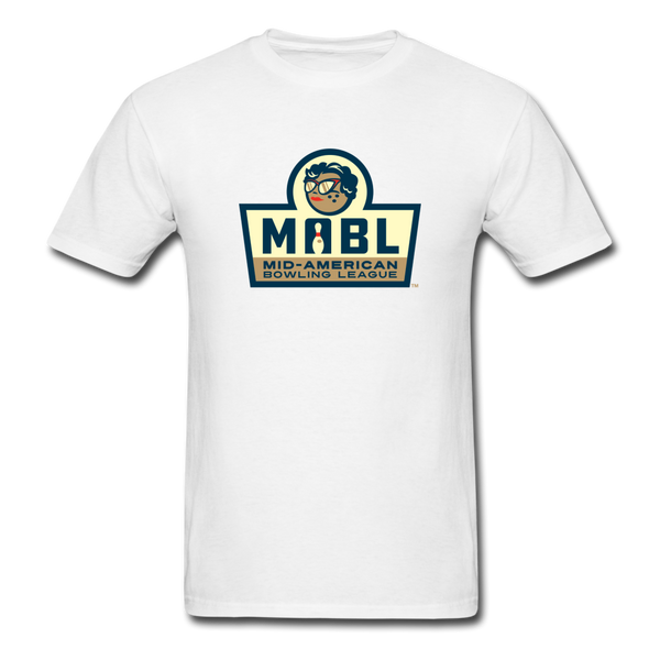 MABL Bowling Unisex Classic T-Shirt - white