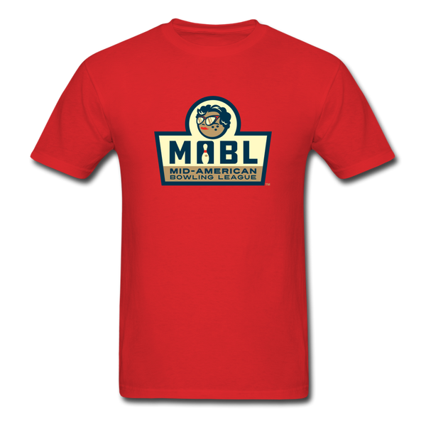 MABL Bowling Unisex Classic T-Shirt - red