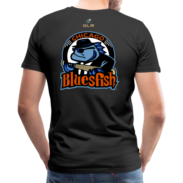 Chicago Bluesfish Men's Premium T-Shirt - black