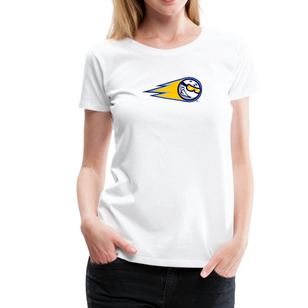 Minnesota Snowballs Women's Premium T-Shirt - white