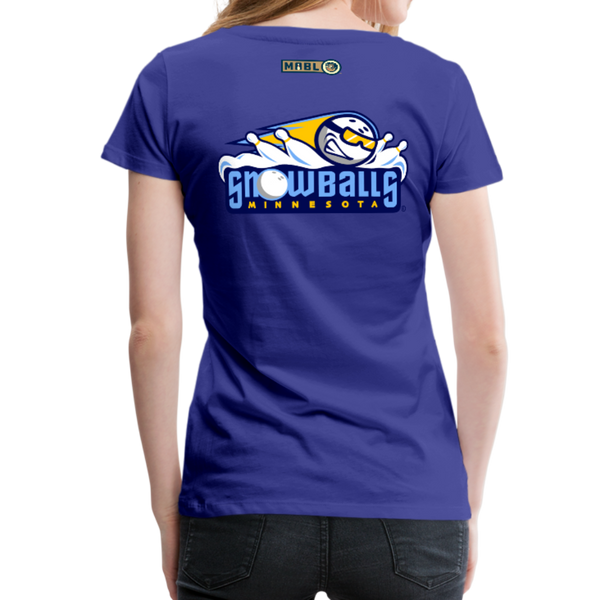 Minnesota Snowballs Women's Premium T-Shirt - royal blue