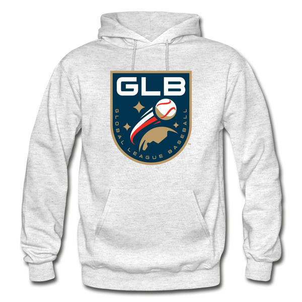 Global League Baseball Heavy Blend Adult Hoodie - light heather gray