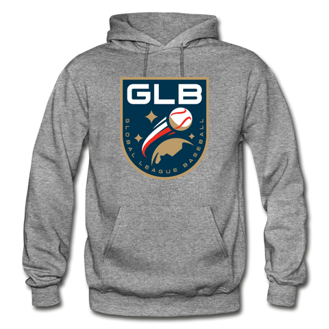 Global League Baseball Heavy Blend Adult Hoodie - graphite heather