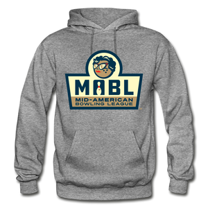 MABL Bowling Heavy Blend Adult Hoodie - graphite heather