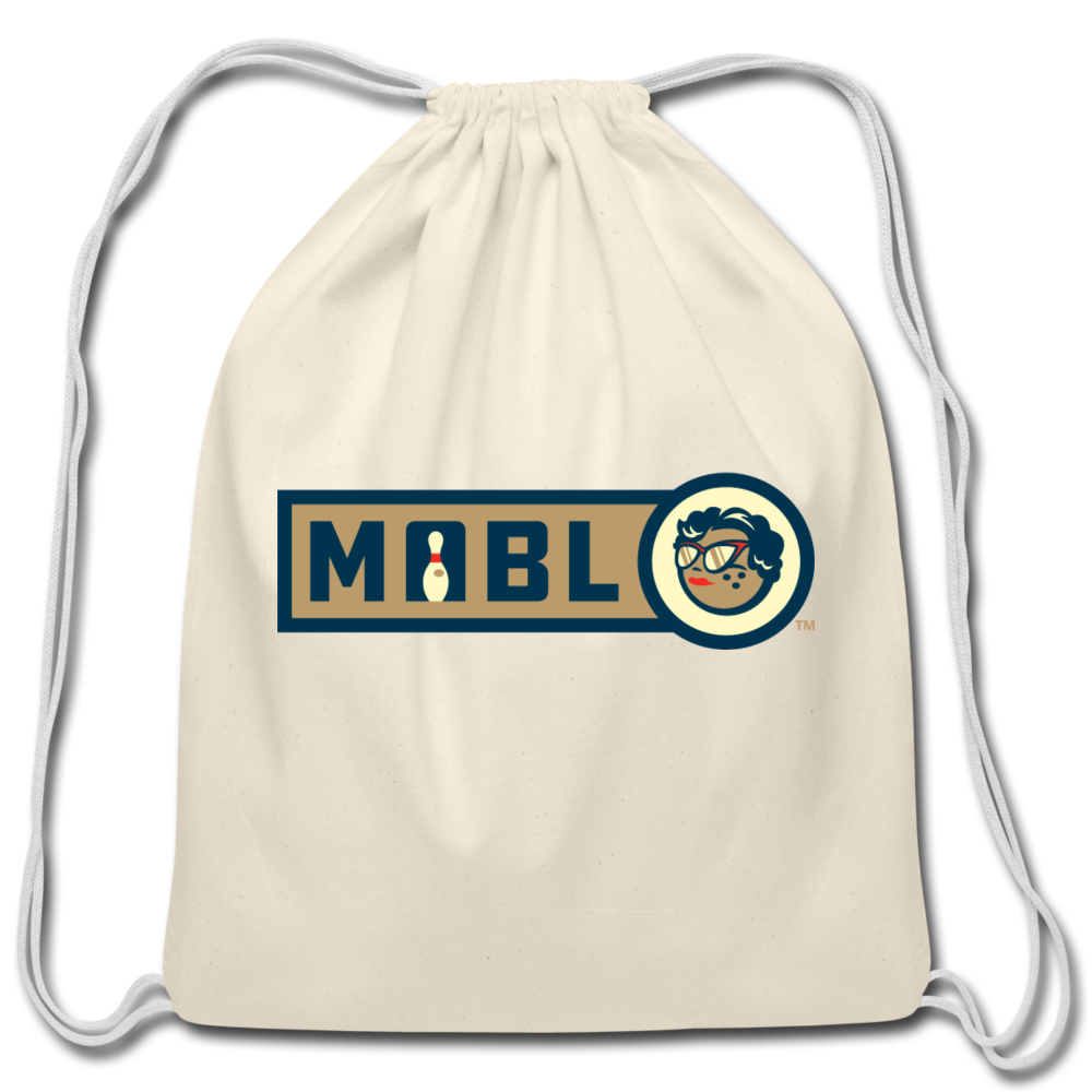 MABL Bowling Cotton Drawstring Bag - natural