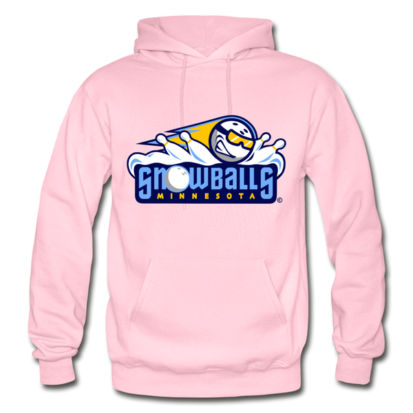 Minnesota Snowballs Heavy Blend Adult Hoodie - light pink