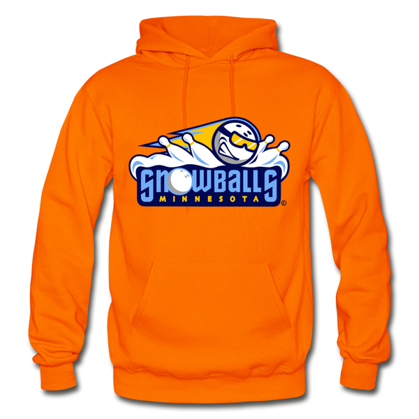 Minnesota Snowballs Heavy Blend Adult Hoodie - orange