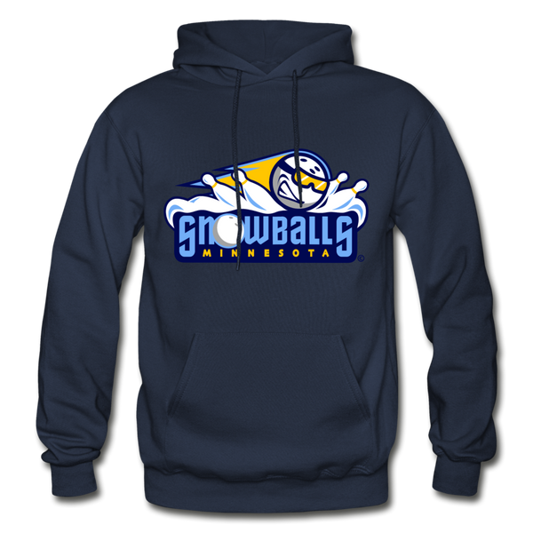 Minnesota Snowballs Heavy Blend Adult Hoodie - navy