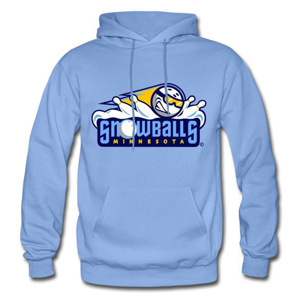 Minnesota Snowballs Heavy Blend Adult Hoodie - carolina blue