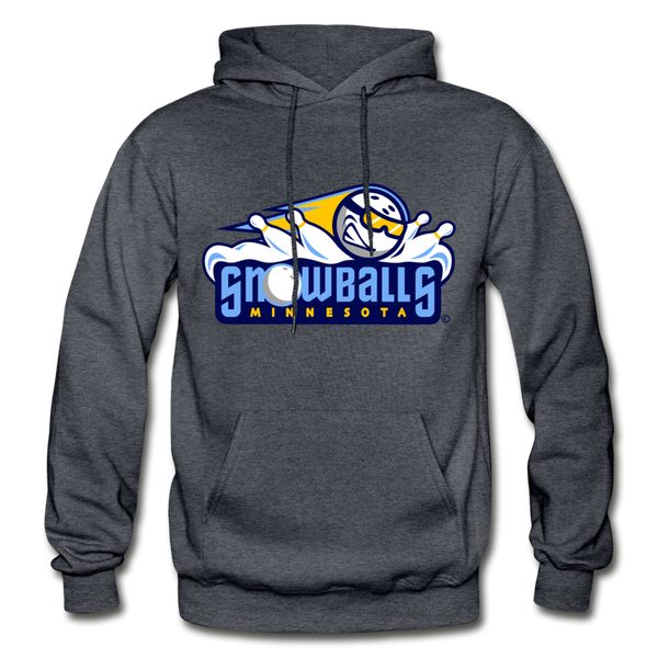 Minnesota Snowballs Heavy Blend Adult Hoodie - charcoal gray