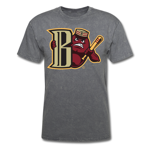 Boston Mean Beans Mascot B Unisex Classic T-Shirt - mineral charcoal gray