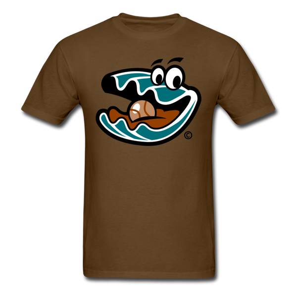 Florida Treasure Hunters Oyster Mascot Unisex Classic T-Shirt - brown