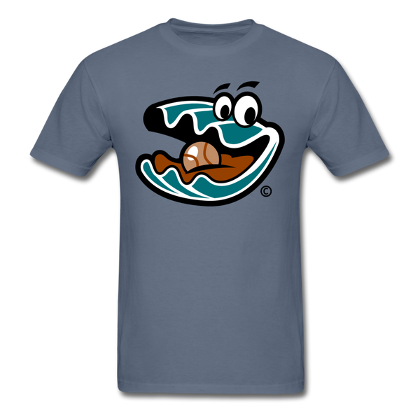 Florida Treasure Hunters Oyster Mascot Unisex Classic T-Shirt - denim
