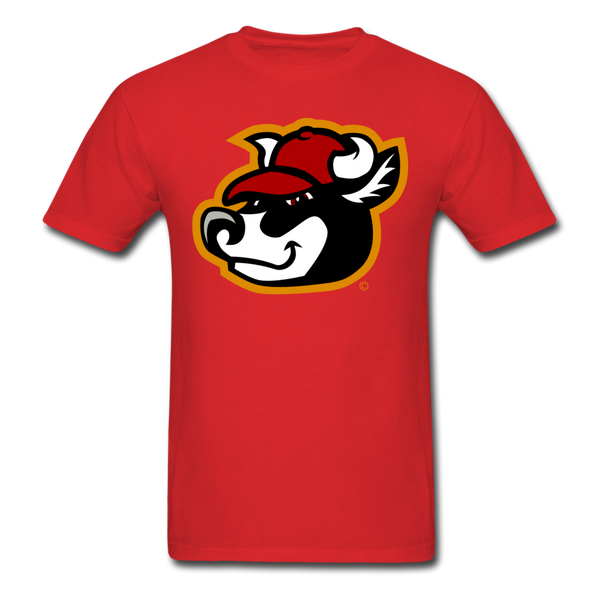 Wisconsin Big Cheese Cow Mascot Unisex Classic T-Shirt - red
