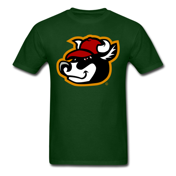 Wisconsin Big Cheese Cow Mascot Unisex Classic T-Shirt - forest green