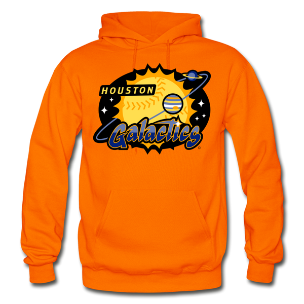 Houston Galactics Heavy Blend Adult Hoodie - orange