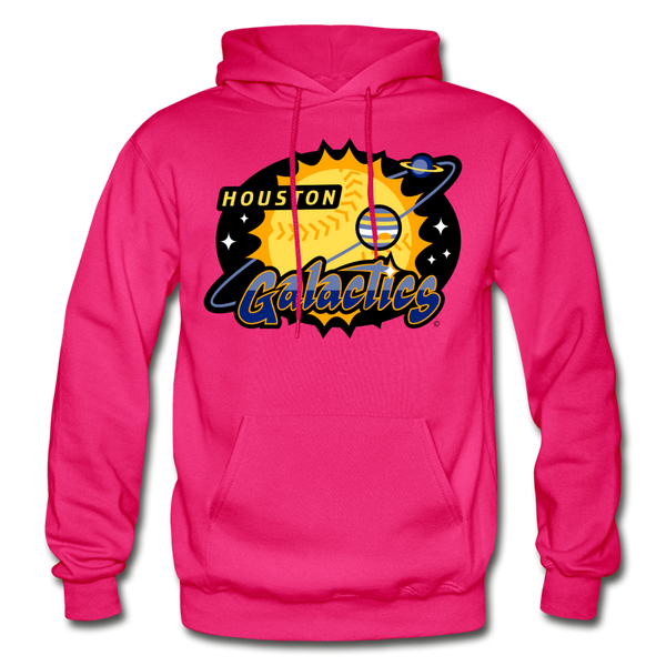 Houston Galactics Heavy Blend Adult Hoodie - fuchsia