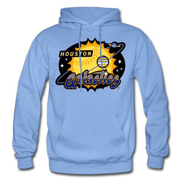 Houston Galactics Heavy Blend Adult Hoodie - carolina blue