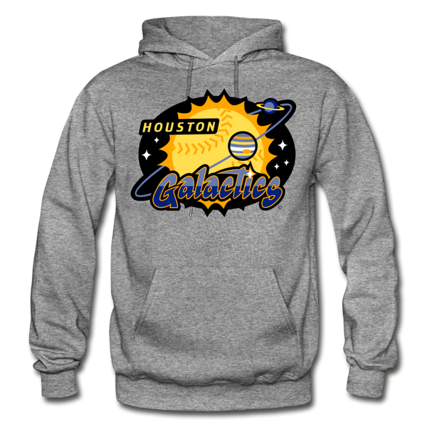 Houston Galactics Heavy Blend Adult Hoodie - graphite heather