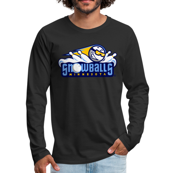 Minnesota Snowballs Men's Long Sleeve T-Shirt - black