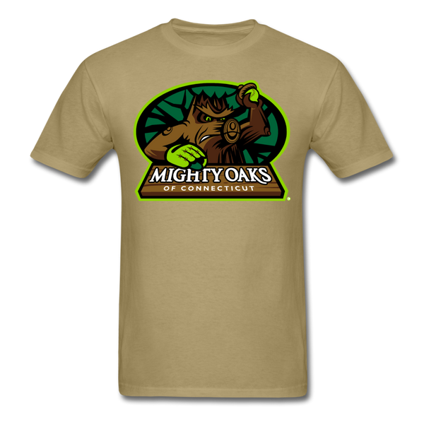 Mighty Oaks of Connecticut Unisex Classic T-Shirt - khaki