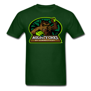 Mighty Oaks of Connecticut Unisex Classic T-Shirt - forest green
