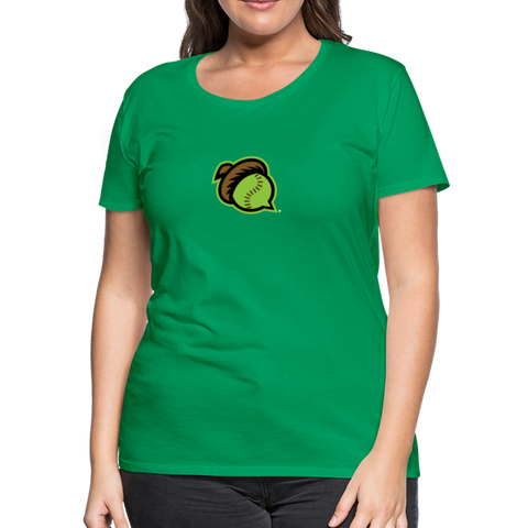 Mighty Oaks of Connecticut Women's Premium T-Shirt - kelly green