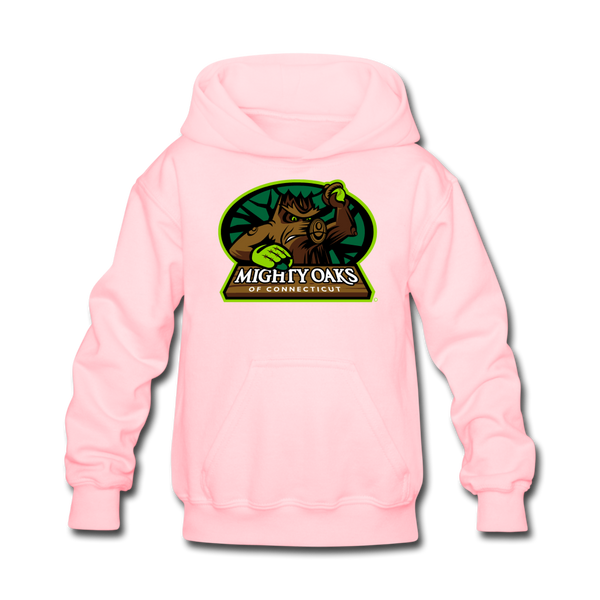 Mighty Oaks of Connecticut Kids' Hoodie - pink