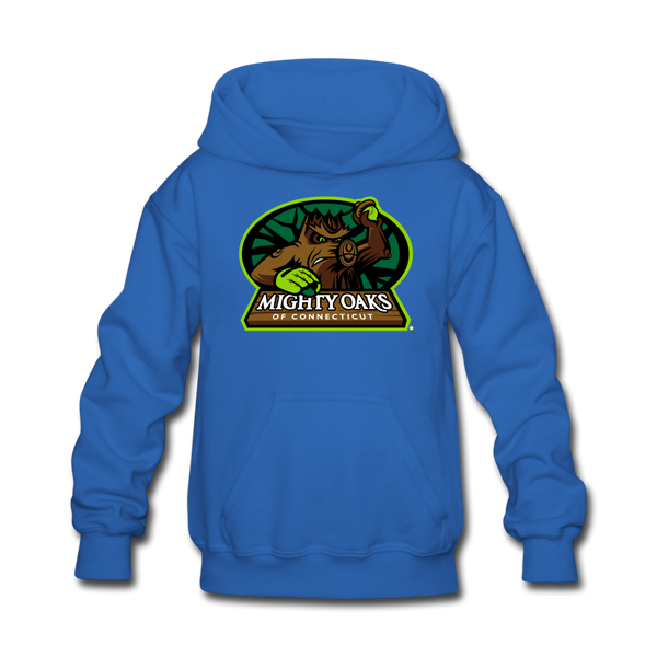 Mighty Oaks of Connecticut Kids' Hoodie - royal blue