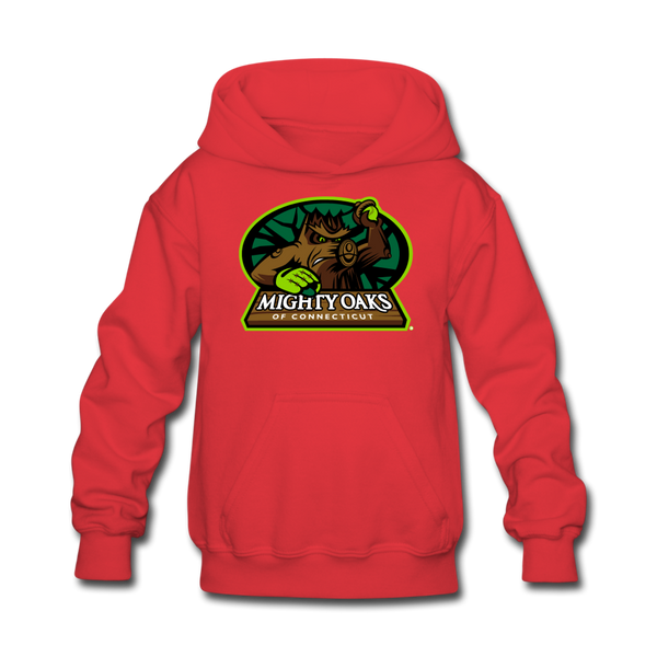 Mighty Oaks of Connecticut Kids' Hoodie - red