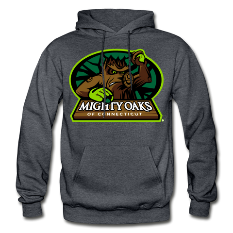 Mighty Oaks of Connecticut Heavy Blend Adult Hoodie - charcoal gray