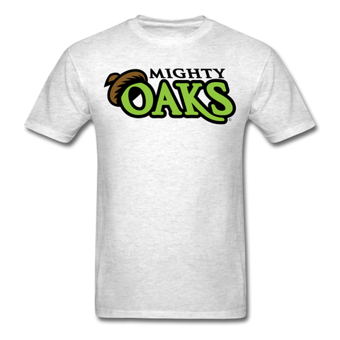 Mighty Oaks of Connecticut Wordmark Unisex Classic T-Shirt - light heather gray