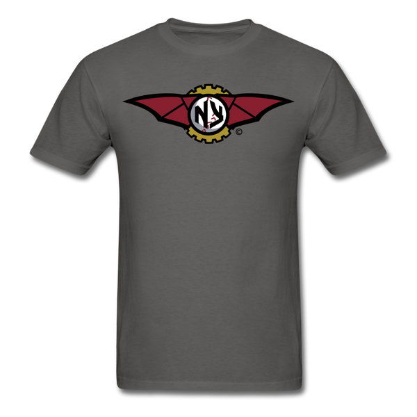 New York Zeppelins NY Unisex Classic T-Shirt - charcoal