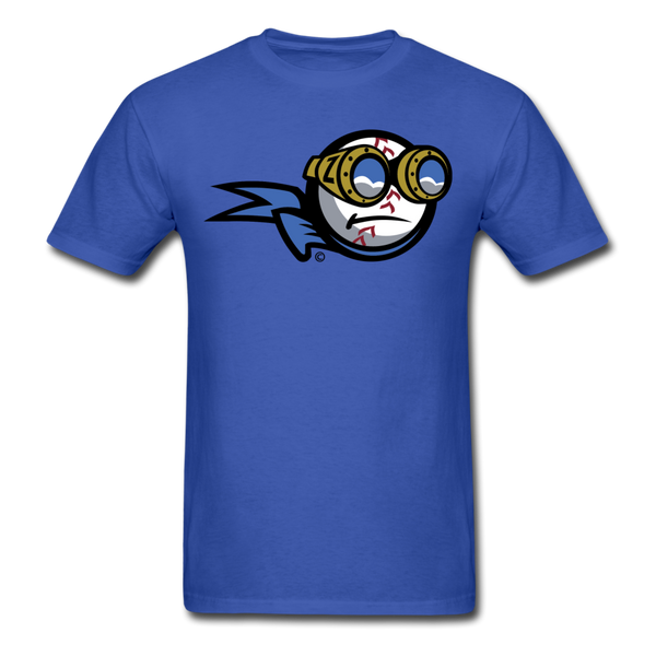 New York Zeppelins Mascot Unisex Classic T-Shirt - royal blue