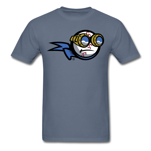New York Zeppelins Mascot Unisex Classic T-Shirt - denim