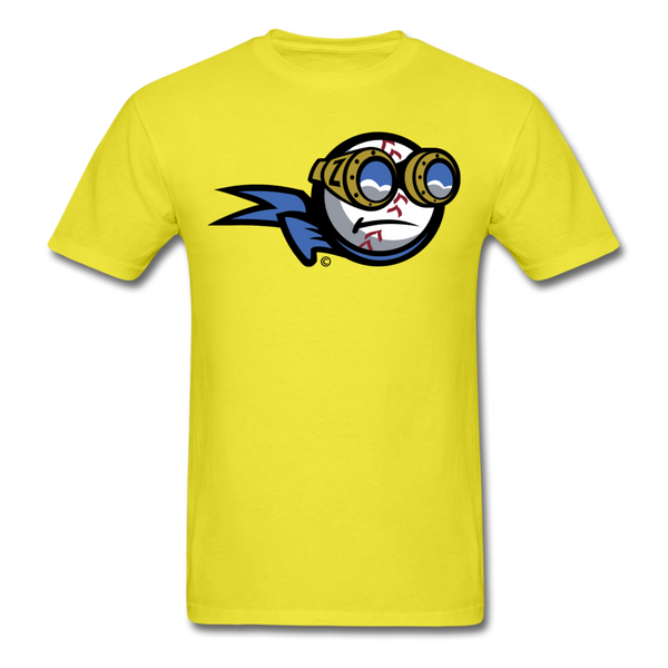 New York Zeppelins Mascot Unisex Classic T-Shirt - yellow